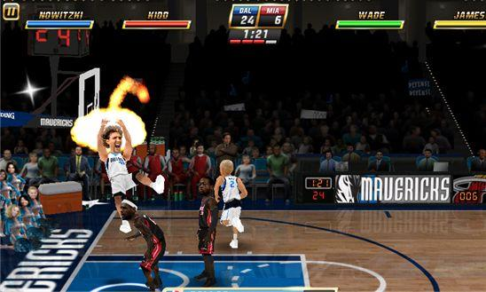 NBA JAM - игра в баскетбол для Windows Phone