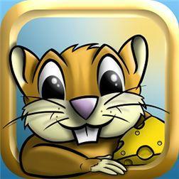 Найди сырок и покорми бурундука в игре World of cheese для Windows Phone