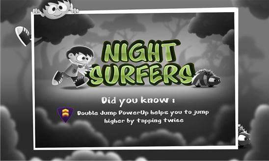Night Surfers – укротитель ночных монстров. Играть раннер бесплатно