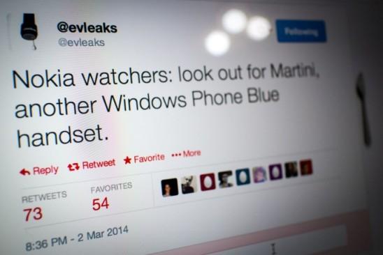 Nokia «Martini» - смартфон на Windows Phone 8.1