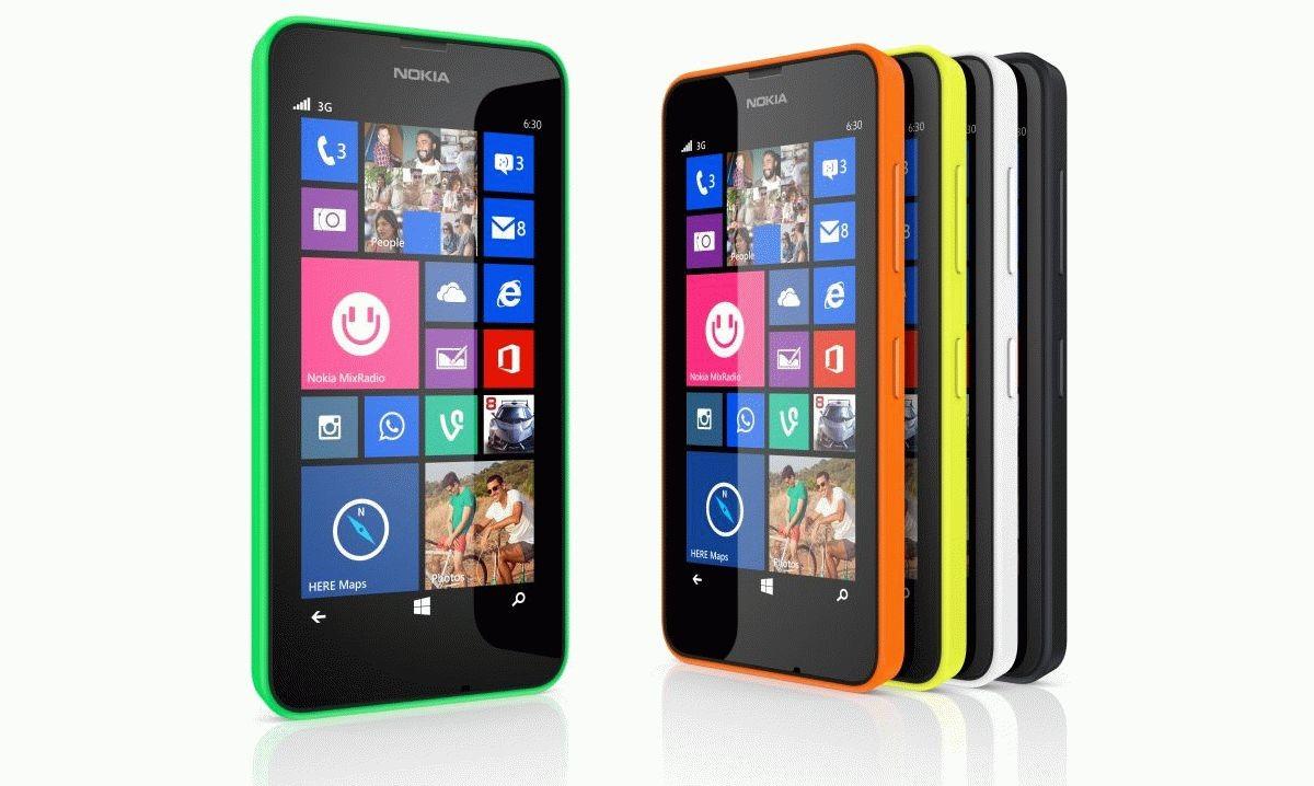 Смартфон Nokia Lumia 635 с 1 Гб ОЗУ