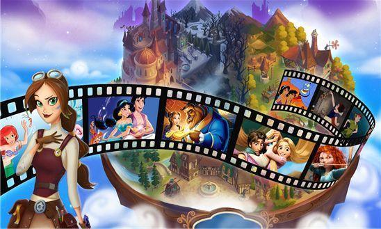 Новая игра от Disney - Hidden Worlds
