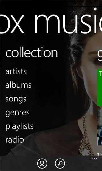 Новенькое приложение Xbox Music для Windows Phone 8