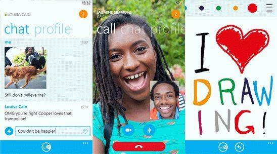 Обновление Skype 2.5 для Windows Phone