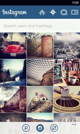 Обзор Instagram BETA для платформы Windows Phone