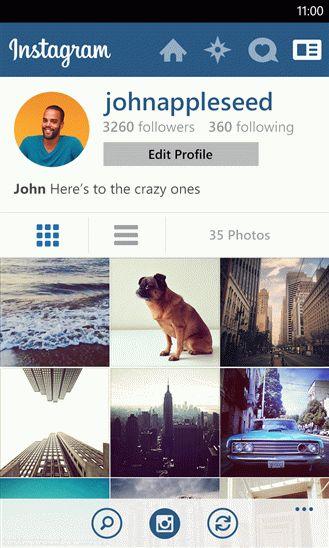 Обзор Instagram BETA для платформы Windows Phone