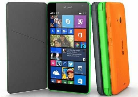Обзор девайса Microsoft Lumia 535 на платформе Windows Phone 8.1 + Lumia Denim