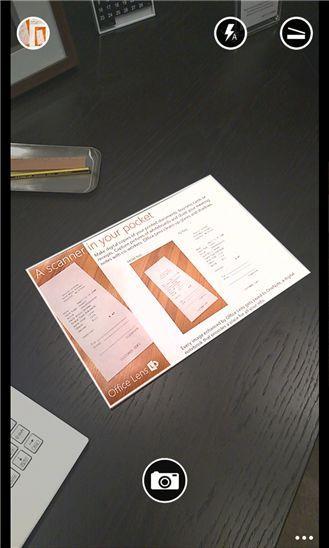 Office Lens - теперь документы можно сканировать с помощью телефона