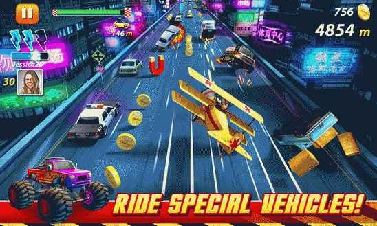 One The Run – любимая игра гонщиков
