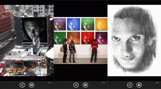 PhotoFunia для Windows Phone – эффект для фото онлайн