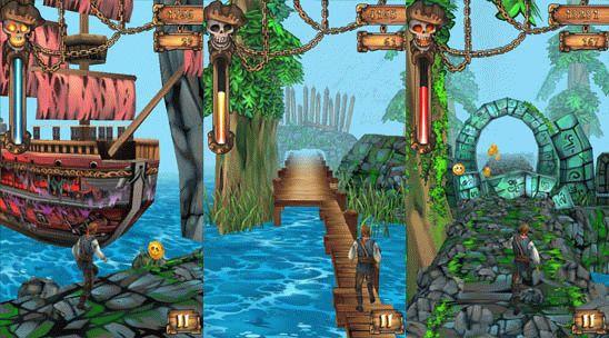 Pirates Don't Run - игра-аркада для Windows Phone