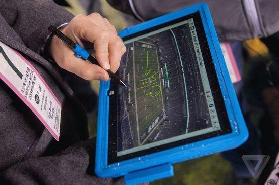 Планшеты Surface: технологии внедряются в большой спорт
