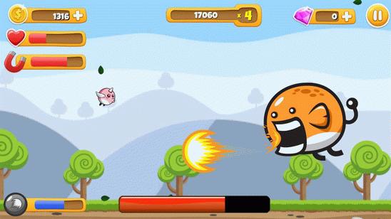 Plimpli Adventures  - игра в стиле Flappy Bird