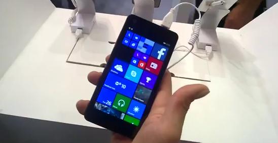 Polaroid WinPro 5.0 – новый селфифон Windows Phone от старого производителя