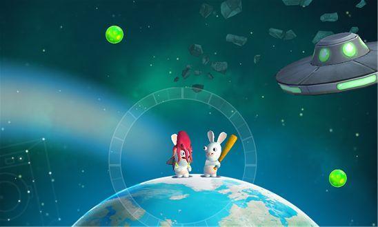 Rabbids Big Bang приключения безумных кроликов во Вселенной
