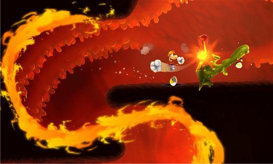 Rayman Fiesta Run - новые приключения Реймана
