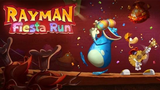 Rayman Fiesta Run поглощает и захватывает!