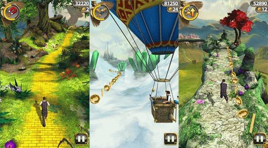 Скачать «Temple Run: Oz» для Windows Phone