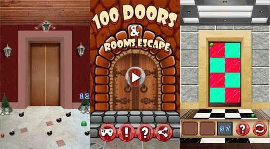 Скачать 100 дверей и комнат побега бесплатно