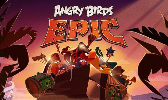 Скачать Angry Birds Epic для Windows Phone 8 бесплатно