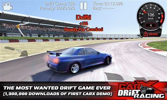 Скачать CarX Drift Racing с целью Windows Phone 0