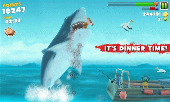 Скачать Hungry Shark Evolution для виндовс фон бесплатно 2_windowsdevice.net