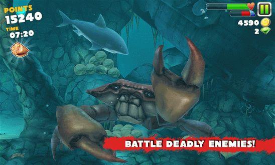 Скачать Hungry Shark Evolution для виндовс фон бесплатно