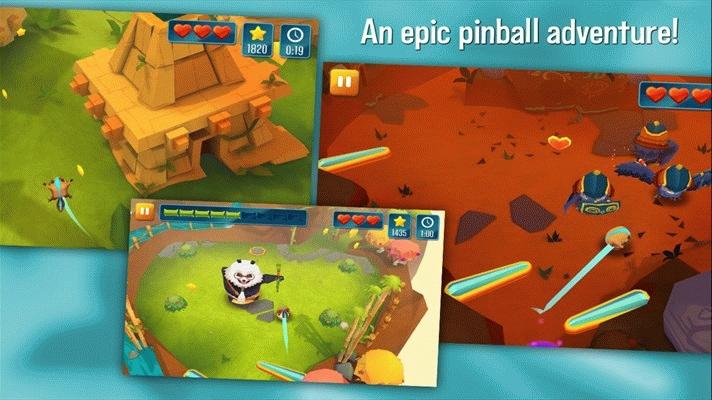 Скачать Momonga Pinball Adventures от Game Troopers для Windows Phone 8 и Windows