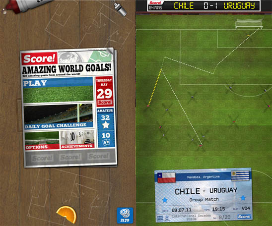 Скачать Score! World Goals для Windows Phone 8