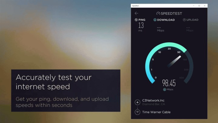 Скачать Speedtest by Ookla для Windows 10
