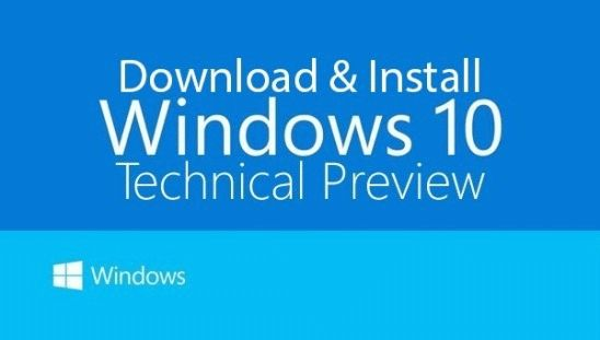 Скачать ISO-образы Windows 10 Technical Preview Build 9879