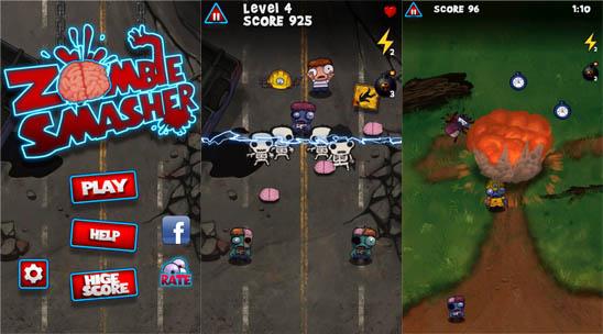 Скачать Zombie Smasher для windows phone – зомби снова идут в атаку