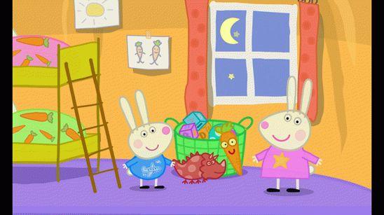 Скачать игру Спокойной ночи Свинка Пеппа