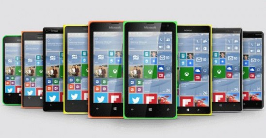 Скачать обновления Windows 10 смогут не все смартфоны