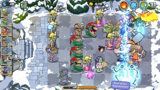 Стратегия Trolls vs Vikings для Windows 8 или игра, которая напоминает зомби против растений