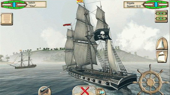 The Pirate Caribbean Hunt на компьютер