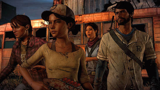 The Walking Dead A New Frontier скачать