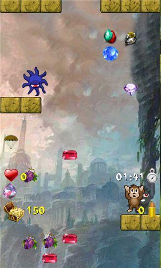 Treasure Monkey – сокровища обезьян – джампер для смартфонов Windows Phone