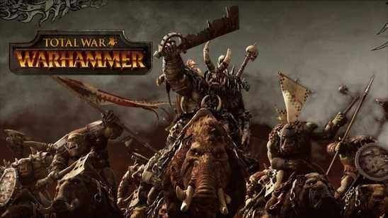 Трейлер анонсированной игры Total War: Warhammer