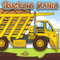 Trucking Mania - через препяствия до пункта назначения