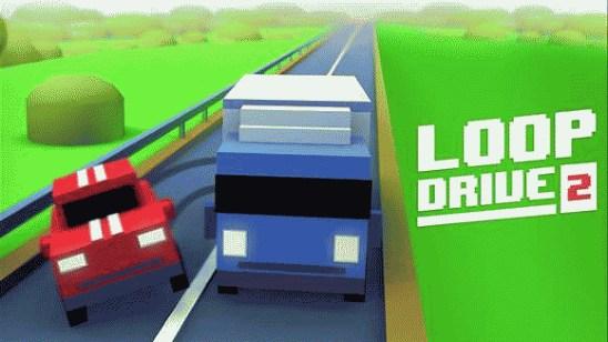 Увлекательная гонка Loop Drive 2