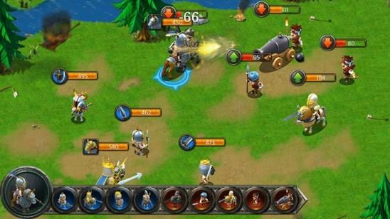 Увлекательная игра Kingdoms & Lords для Виндовс 8