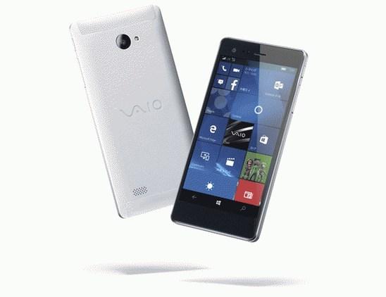 VAIO Phone Biz - новый металлический мобильный на Windows 10