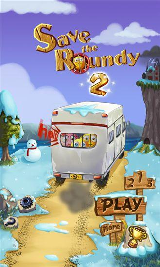 Встречайте новую аркаду Save the Roundy 2