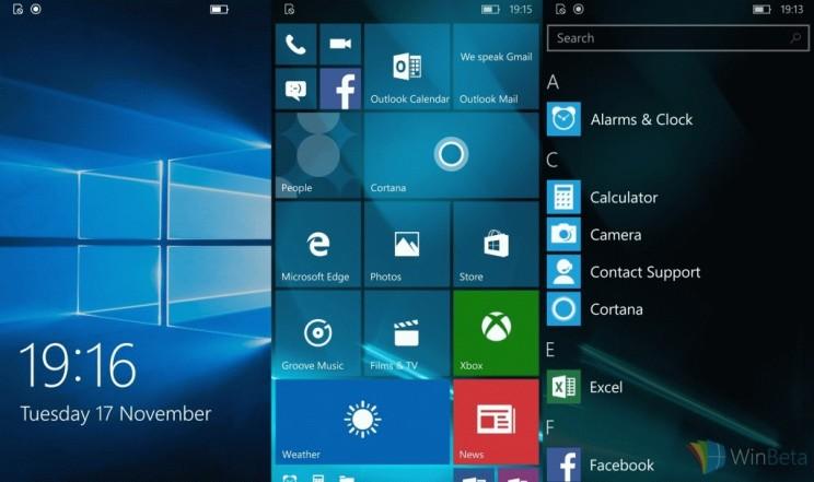 Windows 10 Mobile Insider Preview 10586 начала обновления в медленном кругу