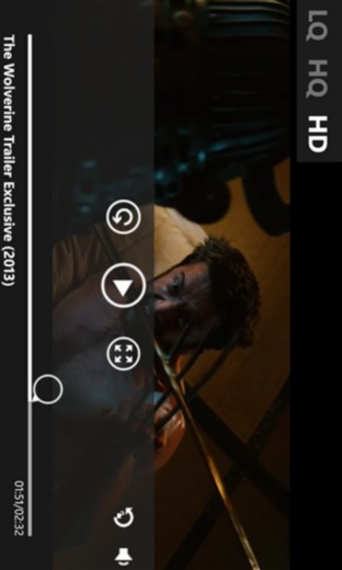 YouTube HD на Windows Phone телефон3