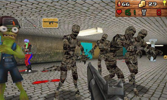скачать игру отстрел зомби - фото 8