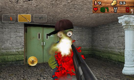Zombie Doom HD - отстрел зомби