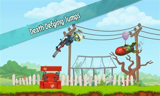 Zombies Got a Pogo – если прыгать, то подальше