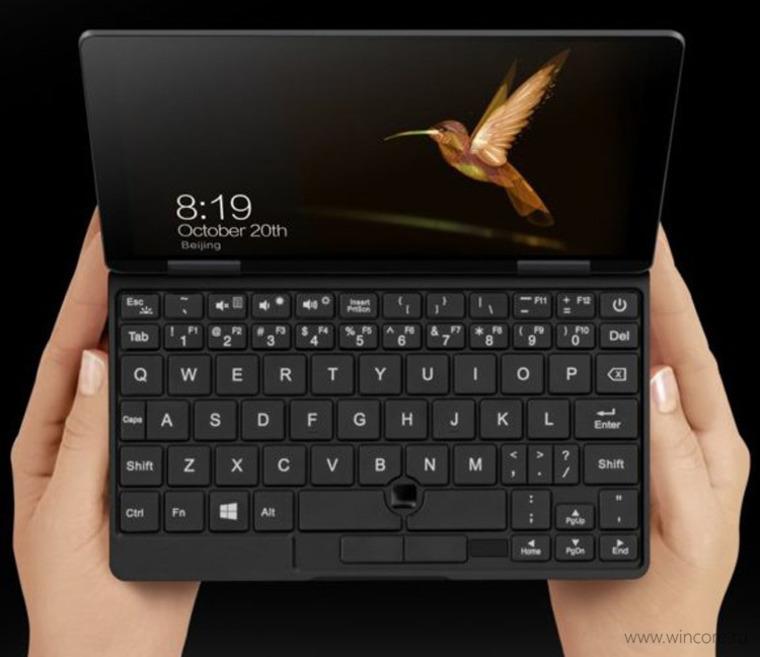 ноутбук One Mix 2S с сенсорным экраном